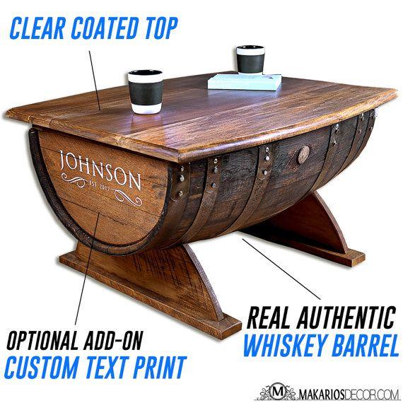 Sellette En Bois Unique Galerie Wine Barrel Coffee Table Coffee Table Whiskey Barrel Coffee Table