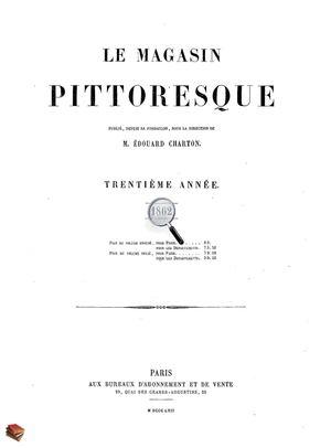 Serres De Gouaix Inspirant Collection Calaméo Le Magasin Pittoresque 1862