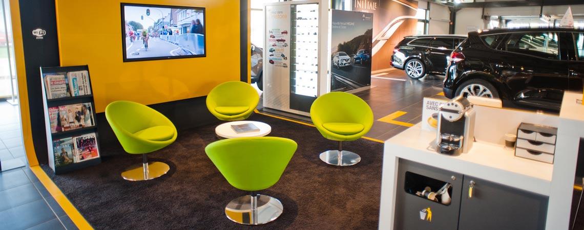 Show Room Point P Nouveau Galerie Concession Renault  Thonon Les Bains Duverney