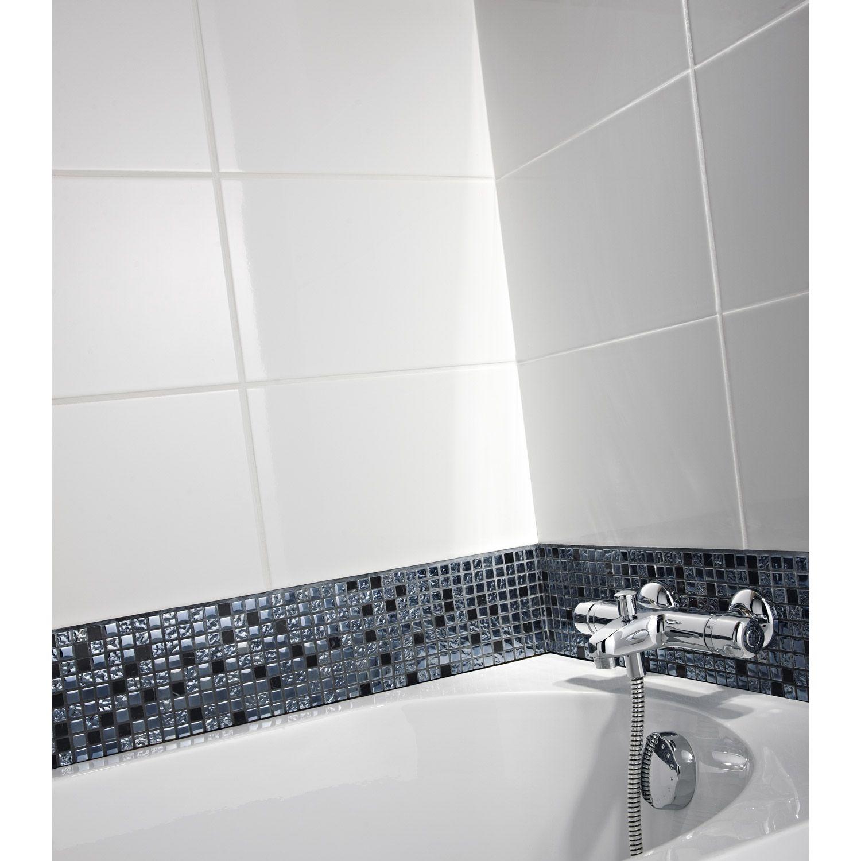 Smart Tiles Leroy Merlin Beau Galerie Carrelage Mural En Fa¯ence Blanc 25 X 40 Cm Leroy Merlin