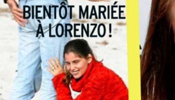 Sophie Davant Compagnon Georges Menut Luxe Stock Laetitia Casta Fiancée Avec Lorenzo Durante