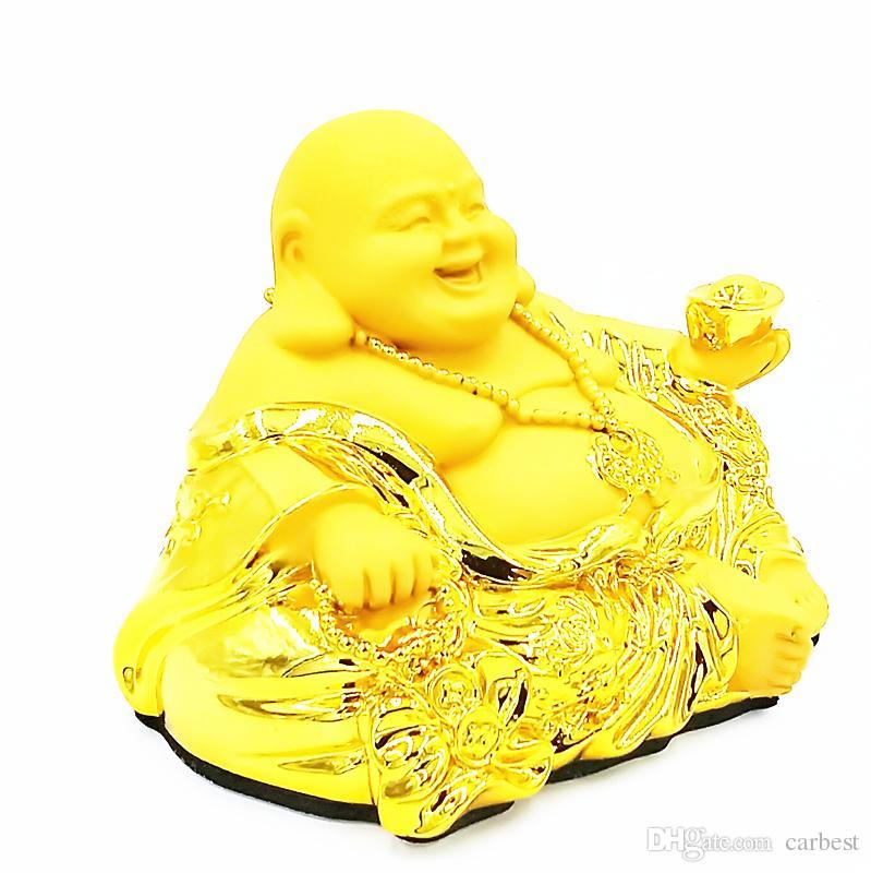 Statue Deco Grande Taille Élégant Photos Acheter Carbest01feng Shui Golden Bouddha Heureux Bouddha Riant Avec