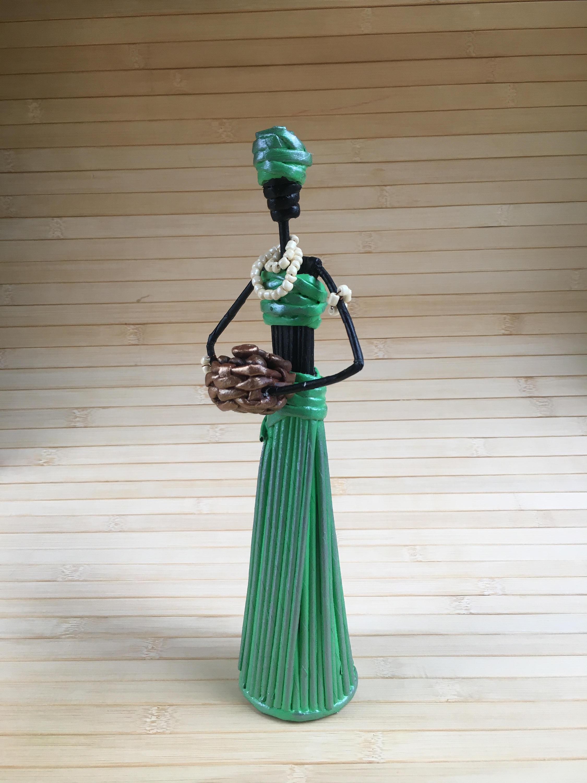 Statue Deco Grande Taille Frais Photographie Amulette De Lart Africain Pour La Richesse Maison Symbole