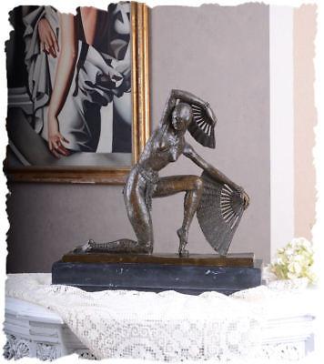 Statue Deco Grande Taille Frais Photos Figure Féminine Bronze Danseuse En Costume De Serpent Art Déco