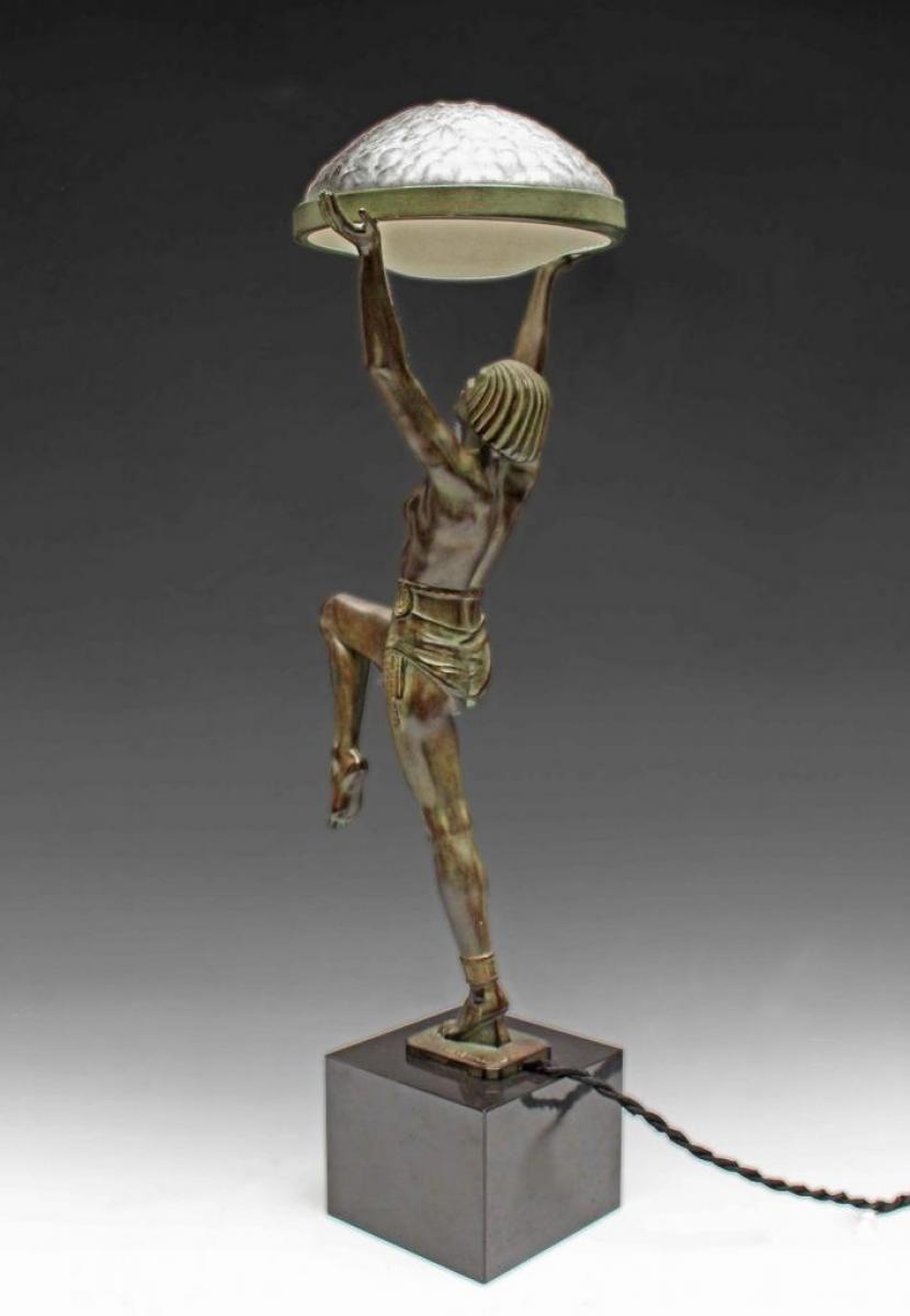 Statue Deco Grande Taille Frais Photos Lamp Danseuse A La Coupe by Max Le Verrier Dimensions 62 Cm De