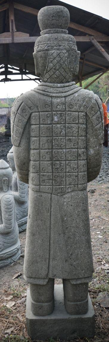 Statue Deco Grande Taille Impressionnant Photos Statue Statue soldat Officier Pierre Naturelle Armée De Xian 2 M