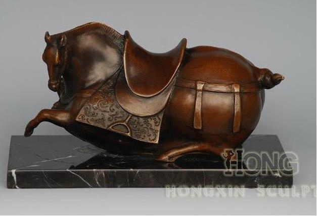 Statue Deco Grande Taille Meilleur De Galerie à ‡nouveau Design Animal De Modélisation Bronze Antiquités Chinois