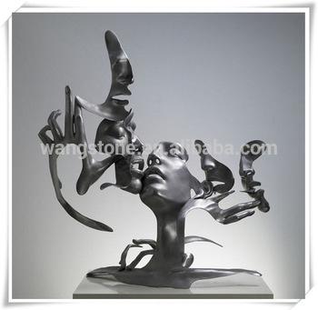 Statue Deco Grande Taille Meilleur De Photos Art Contemporain Décoration En Acier Inoxydable Sculpture Abstraite