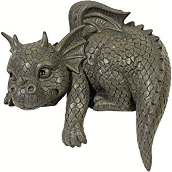 Statue Deco Grande Taille Nouveau Galerie Statue De Jardin En forme De Dragon Pour Bordure Gauche Amazon