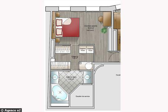 Suite Parentale Avec Salle De Bain Et Dressing Plan Beau Photos 14 Plans Pour Moderniser Un Appartement Pinterest