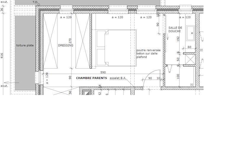 Suite Parentale Avec Salle De Bain Et Dressing Plan Élégant Photos Suite Parentale Avec Salle De Bain Ouverte Home Design
