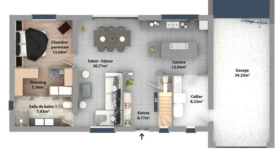 Suite Parentale Avec Salle De Bain Et Dressing Plan Inspirant Image Plan Suite Parentale Avec Salle De Bain Et Dressing Elegant 27