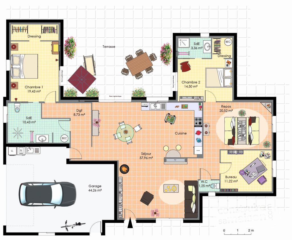 Suite Parentale Avec Salle De Bain Et Dressing Plan Luxe Collection Plan Suite Parentale Avec Salle De Bain Et Dressing Unique 27 Plan