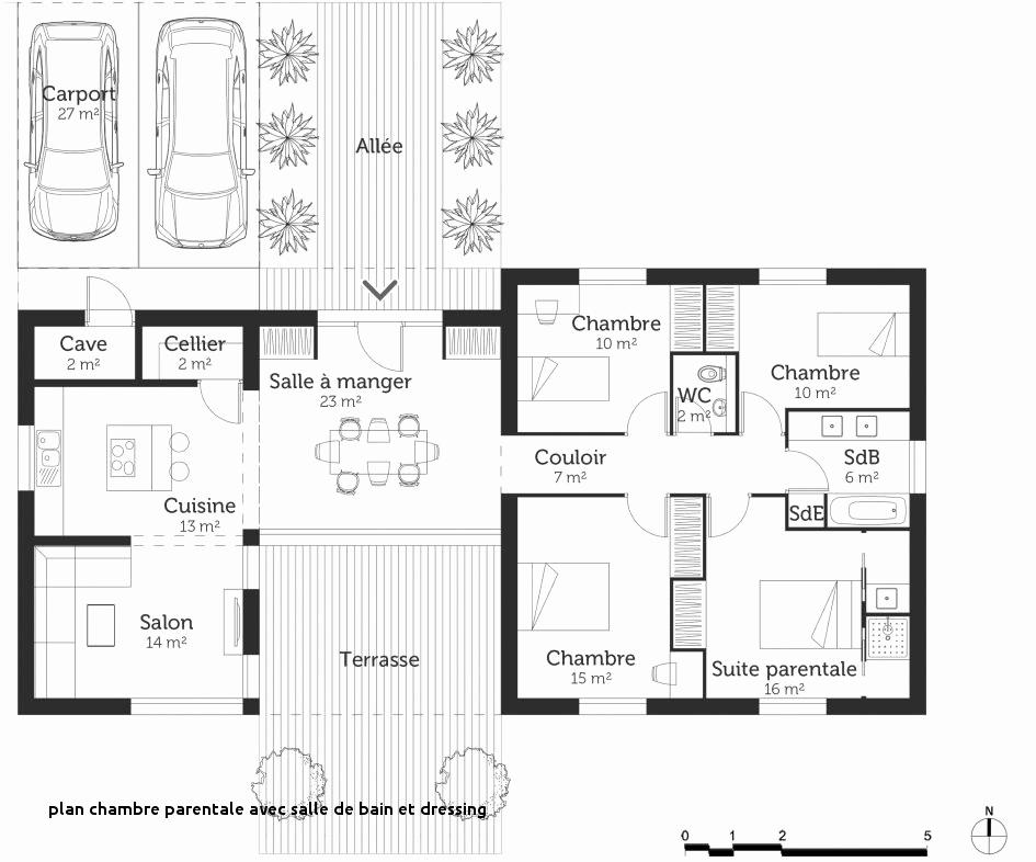 Suite Parentale Avec Salle De Bain Et Dressing Plan Luxe Image Plan Suite Parentale Avec Salle De Bain Et Dressing Unique 27 Plan
