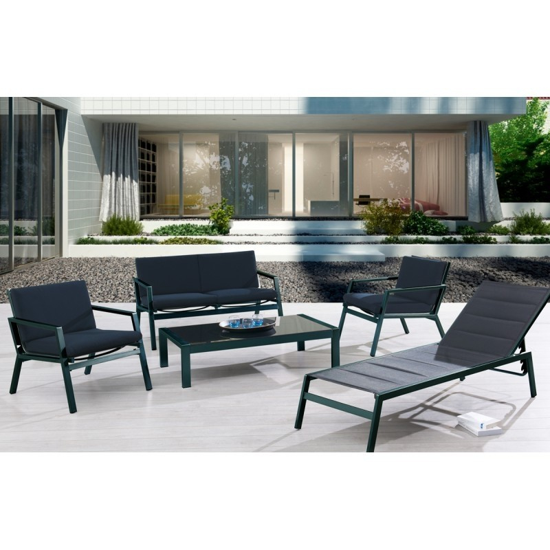 Super U Salon Jardin Inspirant Collection Salon De Jardin Aluminium Noir