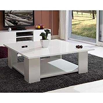 Table Basse Amazon Inspirant Stock 20 Incroyable Table Basse Blanc Brillant Galerie Esw1h