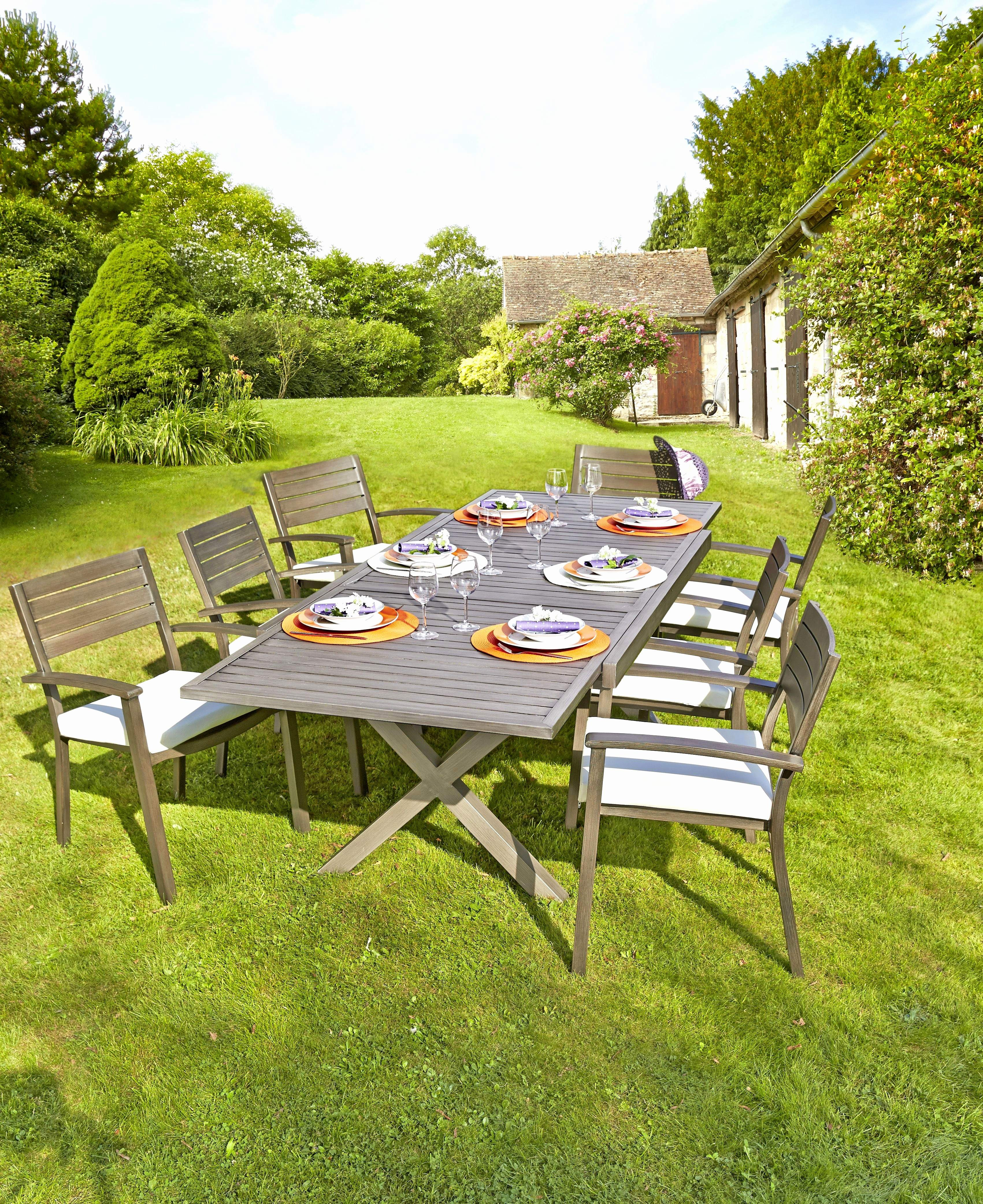 Table De Jardin Alinea Luxe Image La Presque Favorable Mobilier Jardin Teck Mod¨le Du C´té De Le