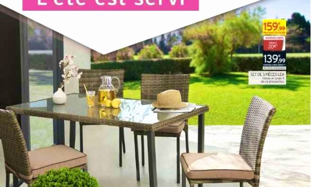 Table De Jardin Intermarche Inspirant Collection Salon Jardin Intermarche Nouveau Best Salon De Jardin Palette Gris