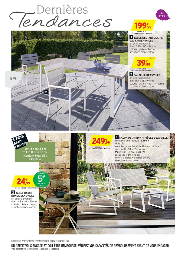 Table De Jardin Intermarche Inspirant Photographie Table De Jardin Auchan Salon De Jardin Coussins Gris Table De