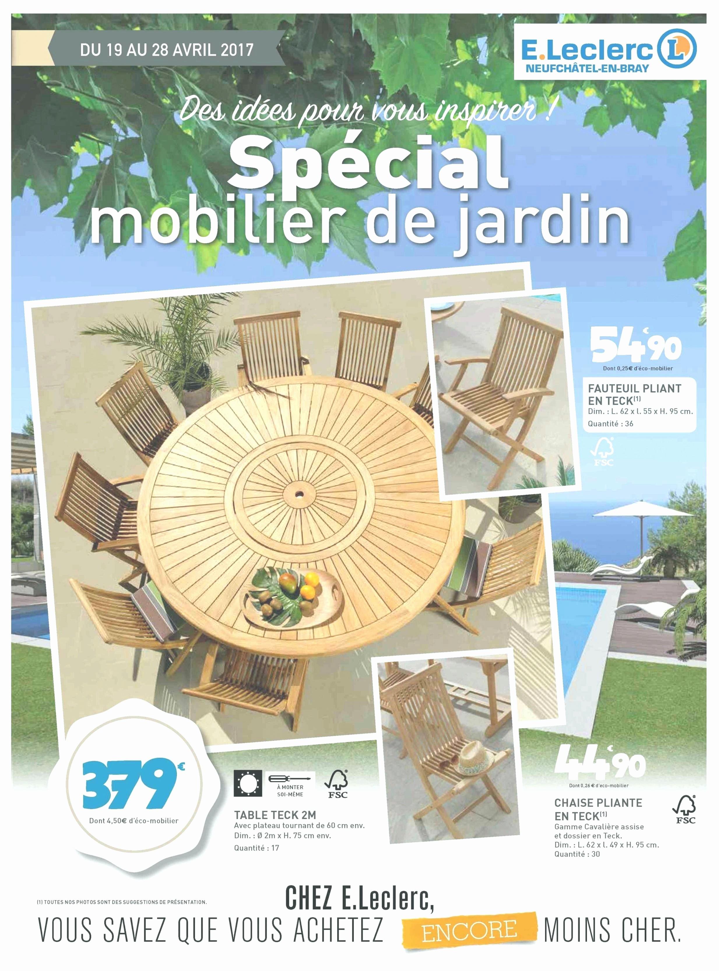 Table De Jardin Ronde En Bois Leclerc Frais Photographie Chaise Pour Salon De Jardin Nhdrc