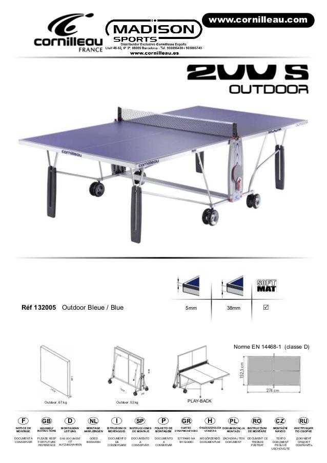 Table De Ping Pong Exterieur Occasion Meilleur De Galerie Table De Ping Pong Cornilleau Exterieur Frais Table De Ping Pong D
