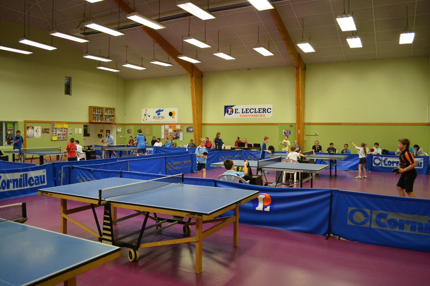 Table De Ping Pong Leclerc Nouveau Stock Ite Departemental De Tennis De Table De La Manche] Informations