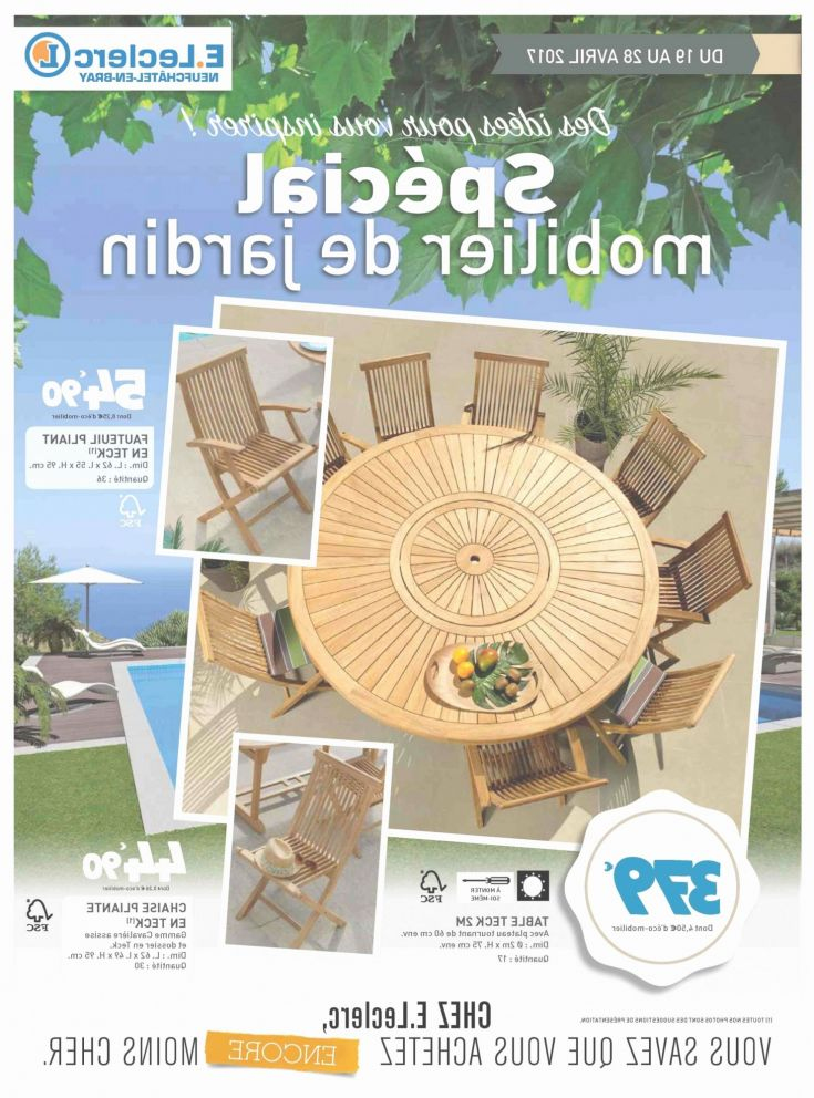 Table Et Chaises De Jardin Leclerc Beau Photos Table De Jardin Allibert Chez Leclerc Veniparchate