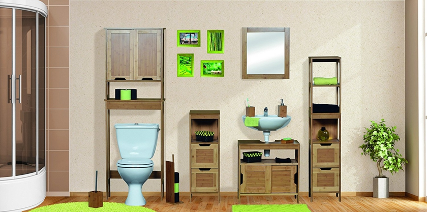 Tapis Contour Wc Bambou Nouveau Image Meuble Wc Design Latest Bien Meuble Salle De Bain Panier A Linge