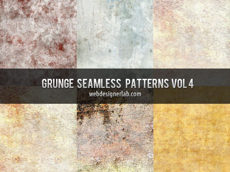 Texture Carrelage Moderne Beau Stock Grunge Seamless Patterns Vol 4 by Xara24 Textures