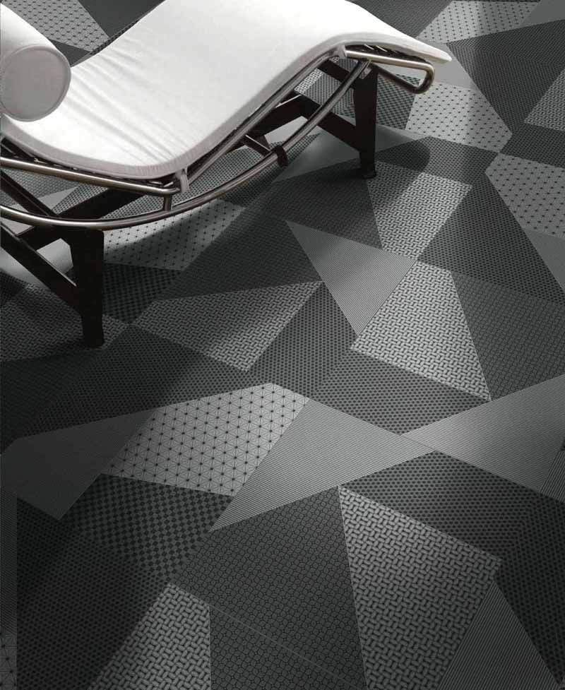 Texture Carrelage Moderne Unique Photos Porcelain Stoneware Wall Floor Tiles origami Nero by Unica by Target