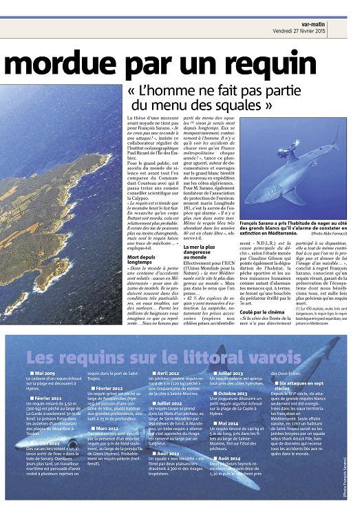 Troc 3000 Frejus Luxe Photos Var Matin N°2015 02 27 Vendredi Page 2 3 Var Matin N°2015 02
