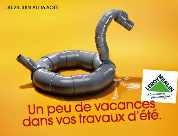 "Tube Aluminium Leroy Merlin Inspirant Photos but De Pub Campagne De Publicité De Leroy Merlin ""un Peu De"