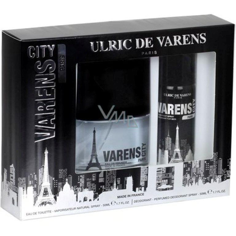 Ulric De Varens Magasin Unique Galerie Ulric De Varens City Paris for Men toaletn­ Voda 50 Ml Deodorant