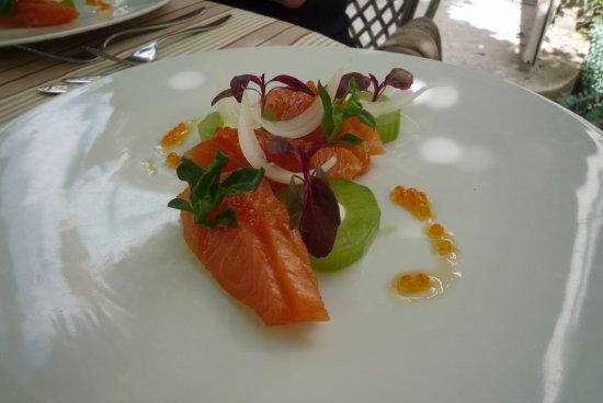 Une Plume Dans La Cuisine Élégant Images Saumon Mariné Con Bre De Restaurant Clair De Plume