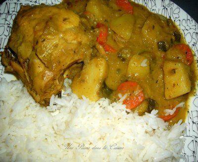 Une Plume Dans La Cuisine Impressionnant Image Colombo De Poulet Antillais Une Plume Dans La Cuisine