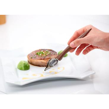 Une Plume Dans La Cuisine Impressionnant Images Cuill¨re Plume Décorative D assiette X2 Pas Cher assiette Gifi