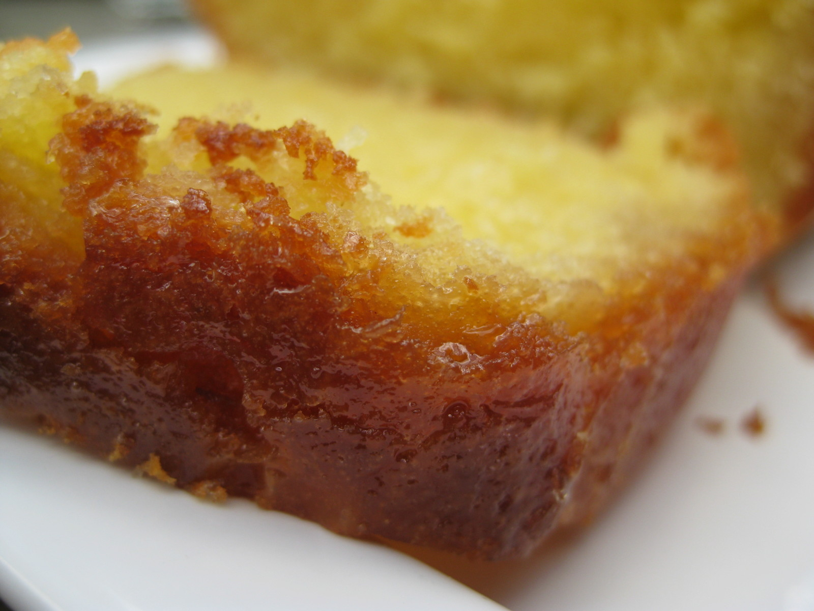 """Une Plume Dans La Cuisine Luxe Images Lemon Drizzle Cake"""" En V O """"g¢teau Arrosé Au Citron"""" En V F"""