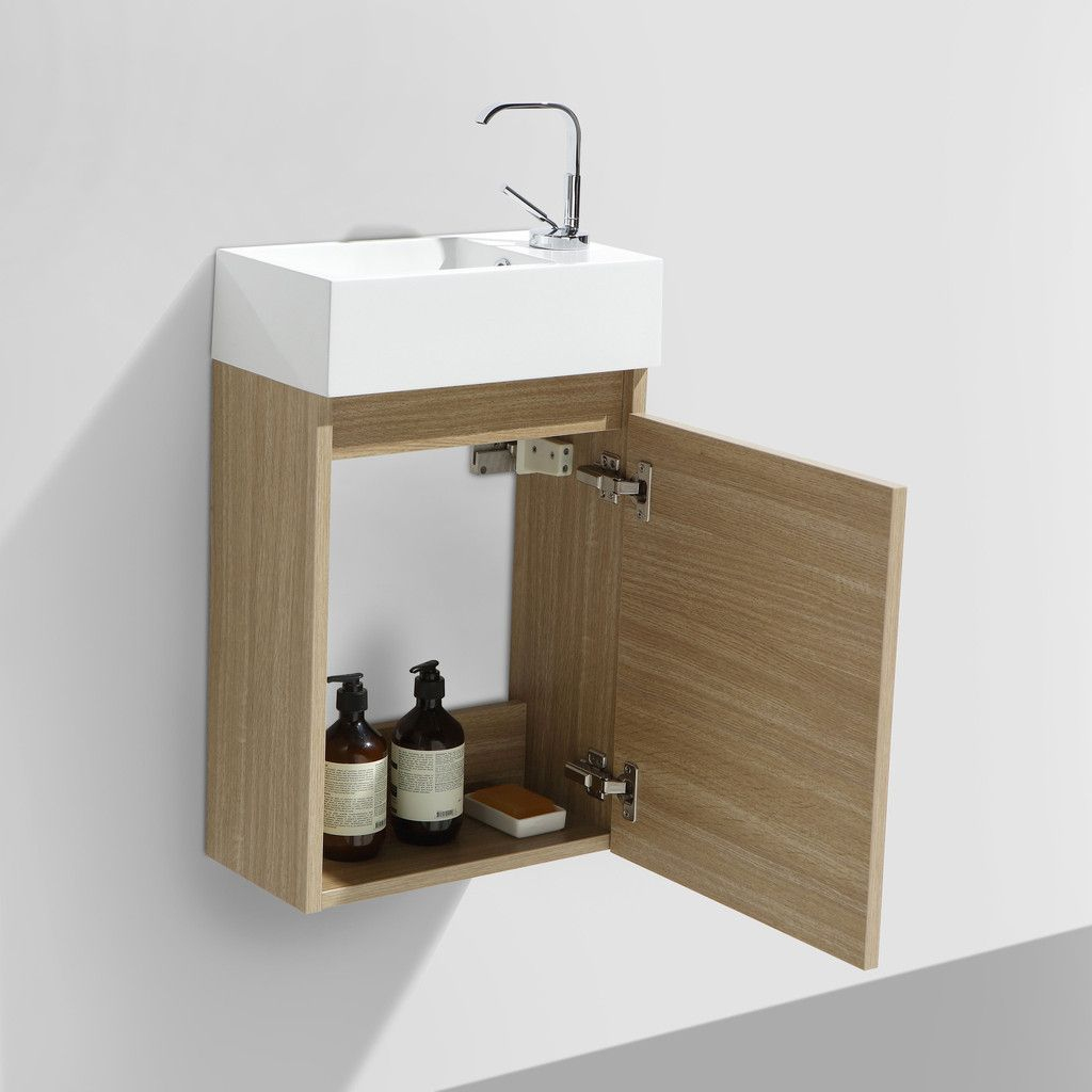 Vasque Cocktail Scandinave Inspirant Images Meuble Lave Main Salle De Bain Design Siena Largeur 40 Cm Chªne