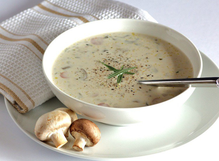 Veloute Fanes De Carottes thermomix Inspirant Photos Potage Aux Champignons Stunning Salade Crmeuse De Pois Chiches with