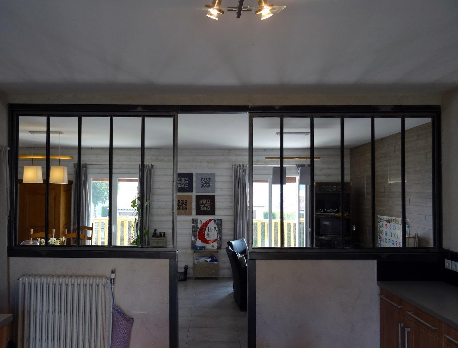 Verrière atelier Lapeyre Impressionnant Images Verriere Interieure Acier Cheap Verriere Interieure En Kit Verrire
