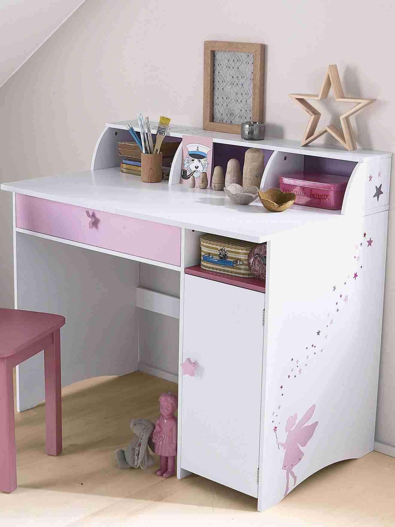 Vert Baudet Fille Impressionnant Galerie Mignon Bureau Fille Sp Cial Primaire Petite Fee Blanc Violet Bureaus
