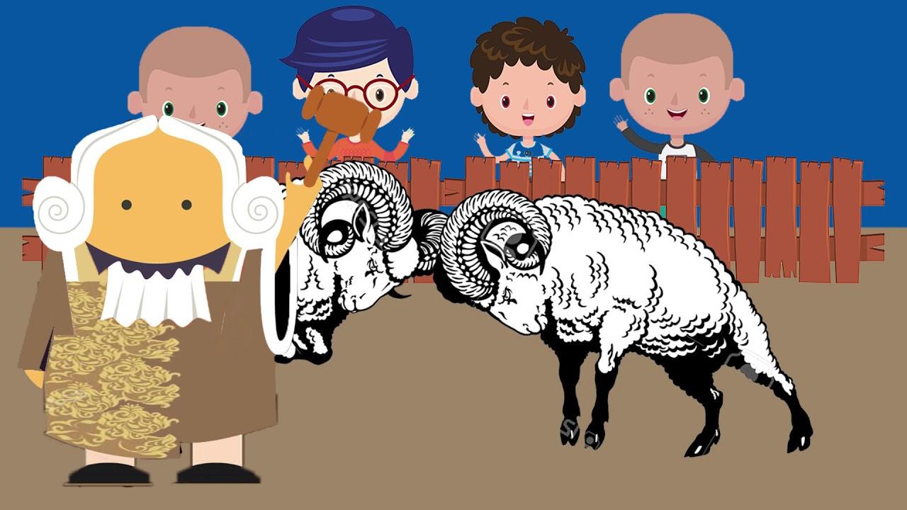 Animasi Domba Garut – Youtube throughout Gambar Domba Animasi