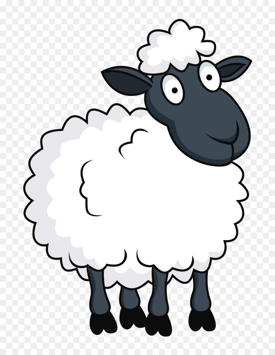 Domba, Kartun, Seni Gambar Png regarding Gambar Domba Png