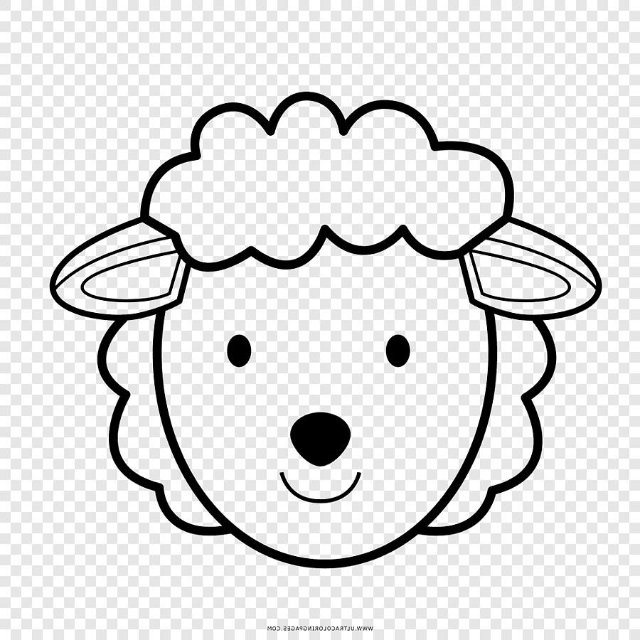 Domba Menggambar Buku Mewarnai Anak Domba Dan Kambing, Domba intended for Gambar Domba Mewarnai