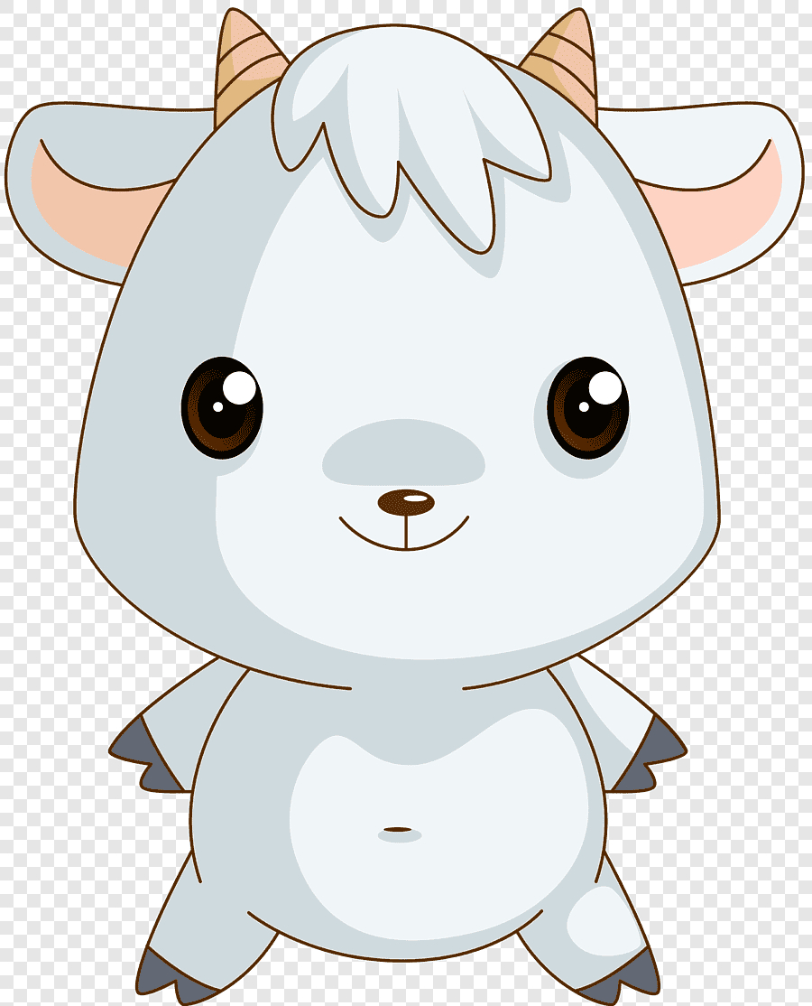 Gambar Animasi Kertas Domba, Tahun Domba, Putih, Mamalia Png inside Gambar Domba Animasi