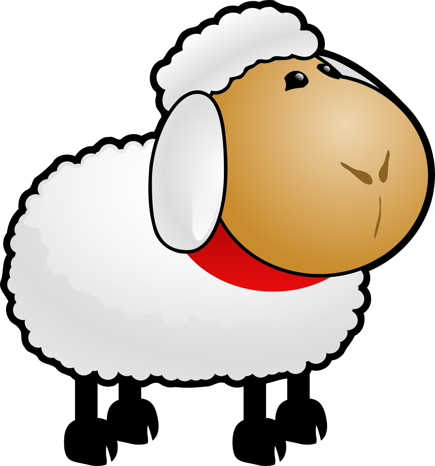 Gambar Domba Kartun Berwarna   Tentang Kolam Kandang Ternak with Gambar Domba Animasi