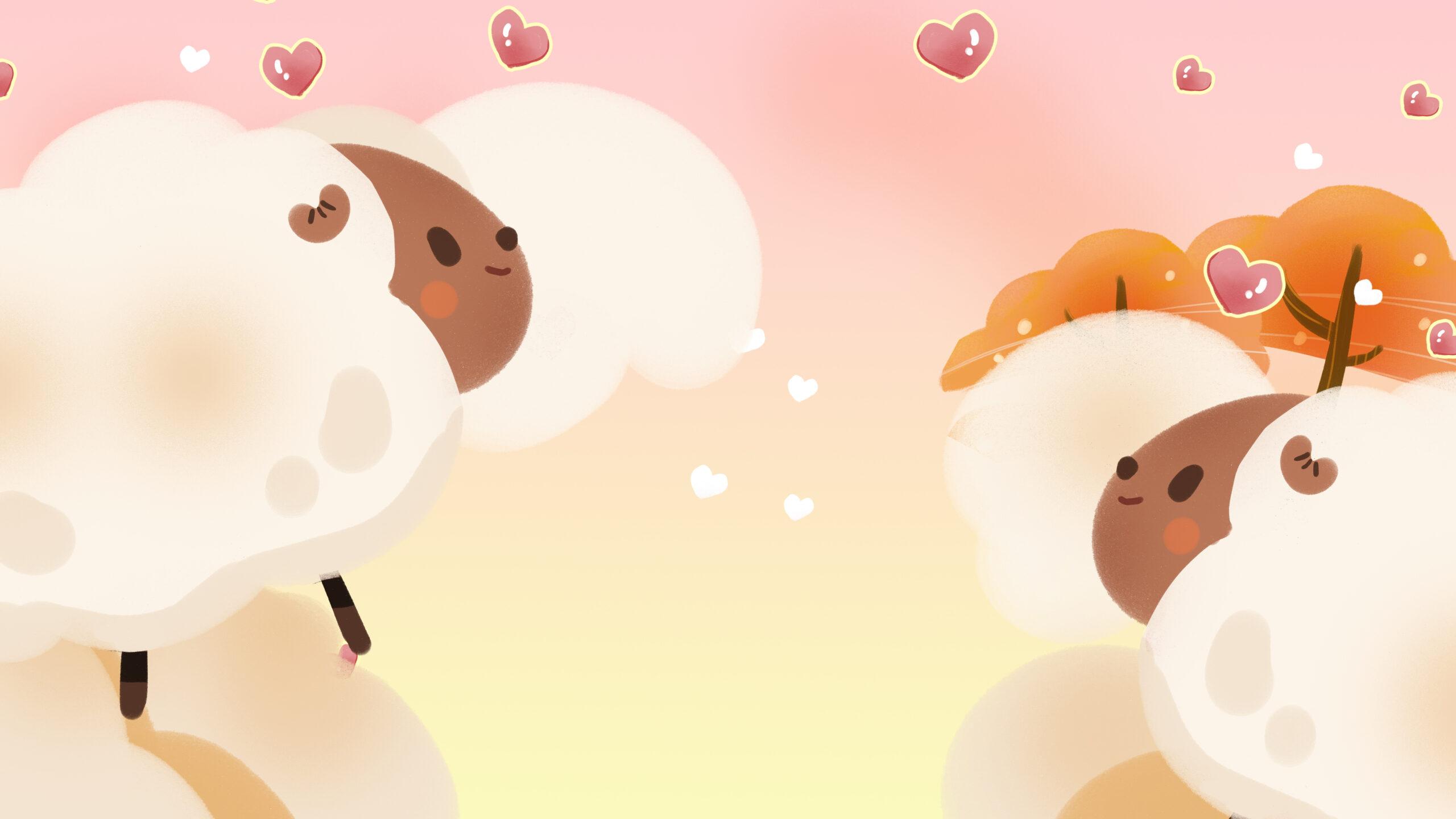 Gambar Kambing Domba Latar Belakang, Kambing Domba Vektor intended for Gambar Domba Animasi