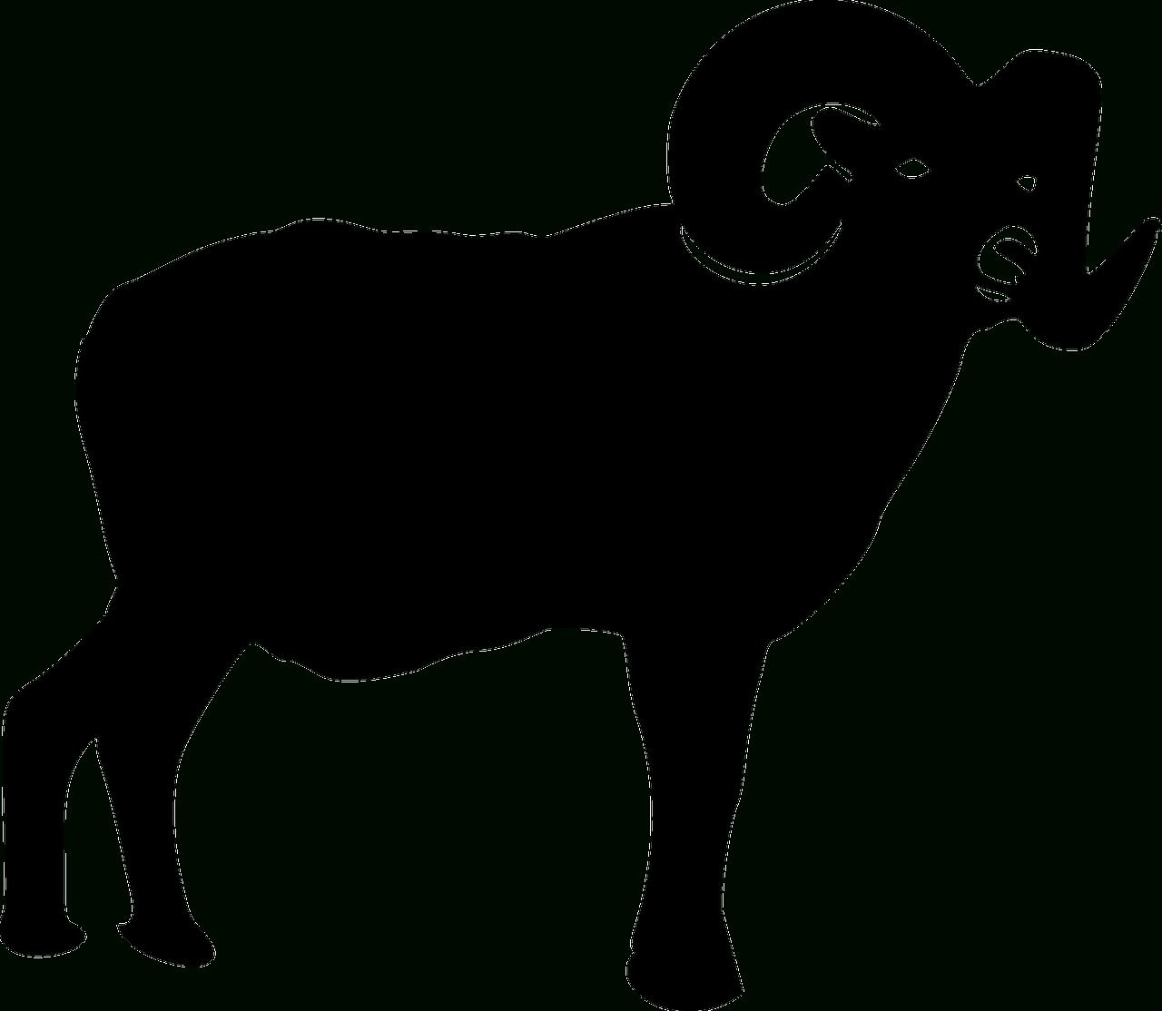 Hewan Alam Domba Bayangan   Gambar Vektor Gratis Di Pixabay pertaining to Gambar Domba Png